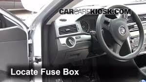 interior fuse box location 2012 2016 volkswagen passat 2012 interior fuse box location 2012 2016 volkswagen passat 2012 volkswagen passat s 2 5l 5 cyl sedan 4 door