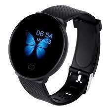 <b>D19 Smart Watch Women</b> Heart Rate Blood Pressure Monitor Men ...
