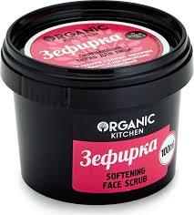 <b>Смягчающий скраб для лица</b> Organic Kitchen Зефирка 100мл ...
