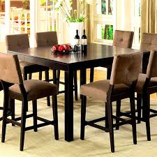 table bar height chairs diy: furniture scenic bar height square dining table for room chairs