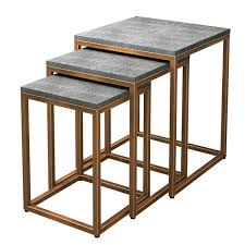 Modern & Contemporary <b>3</b> Piece <b>Nesting Tables</b> | AllModern