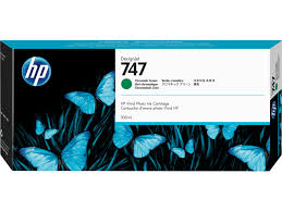 <b>HP 746 Chromatic</b> Green <b>DesignJet</b> Ink Cartridge, 300ml, Rs.6000