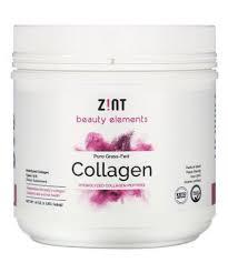 Zint <b>Pure Grass-Fed Collagen Hydrolyzed</b> Collagen Peptides 16 oz ...