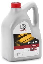 <b>Моторное масло TOYOTA</b> SAE 5W-40 5 л — купить по выгодной ...