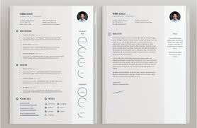 19 templates de cv gratuits et élégants à télécharger cv ferboz estelli template lettre de motivation inclu