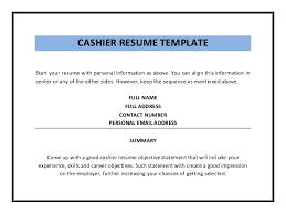 template sle retail cashier  seangarrette cocashier resume template pdf    template sle retail cashier advertising account manager resume retail cashier