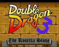 <b>Double Dragon 3</b>: The Rosetta Stone - Lemon Amiga