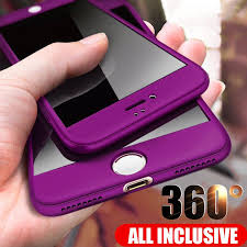 360 градусов защитные телефон дела закаленное стекло ...