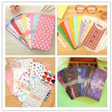 20Pcs/4Pack Supply Colorful Dot Star Envelope Many Style ... - Vova