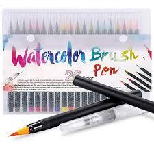 Amazon.com: <b>Premium</b> Watercolor <b>Soft</b> Brush Pen - Flexible Tip ...