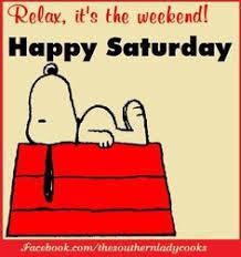 Χαρούμενο Σάββατο...