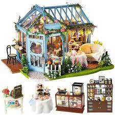 <b>CUTEBEE Dollhouse</b> Miniature <b>Furniture</b> DIY <b>Dollhouse</b> Kit 1:24 ...