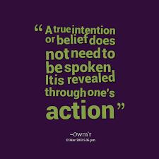Intention Quotes. QuotesGram via Relatably.com