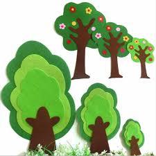 <b>10pcs</b> Green Leaves Shape Free Cutting Fabric <b>Felt</b> Patch ...