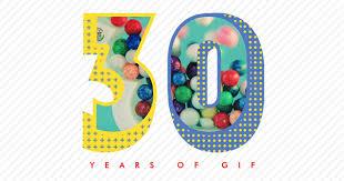30 YEARS OF GIF