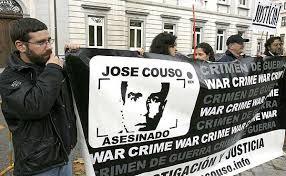 Manifestación por José Couso