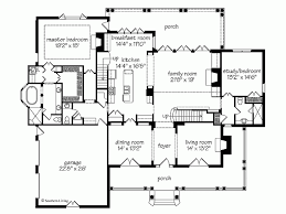 Brick Colonial House Plans   So Replica HousesSouthern Colonial Floor Plans