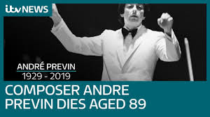 'One of a kind' composer and pianist <b>Andre Previn</b> dies at 89 | ITV ...