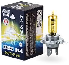 <b>Лампа</b> автомобильная галогенная <b>AVS Atlas Anti</b>-<b>fog</b> A78899S H4 ...