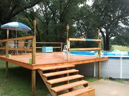 patio deck kits with above ground pool and patio furniture ideas full size backyard furniture ideas