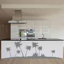 palm tree wall stickers: palm tree isle wall decal