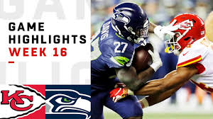 Chiefs vs. Seahawks Week 16 Highlights | NFL 2018 - YouTube