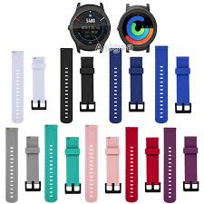 Wristwatch Bands 20mm Sport Replacement <b>Silicone Bracelet Band</b> ...
