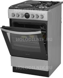 <b>Комбинированная плита Indesit</b> IS5M5CCX/RU купить в интернет ...