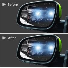 <b>2PCS Car Rearview Mirror</b> Car Accessories Interior Decoration Anti ...