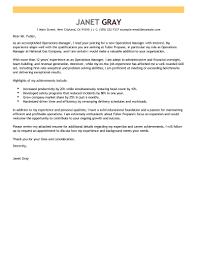 Management Cover Letter 13 Management Cover Letter Example