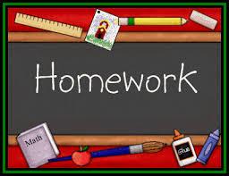 Image result for homework clipart
