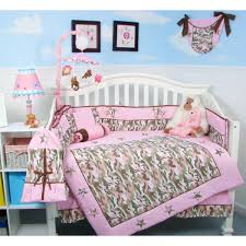 room cute blue ideas: pink  decor decorating nurseries kids rooms wall decor cute baby nursery room design with white baby crib and pink camo nursery bedding  beautiful baby nursery room design ideas x