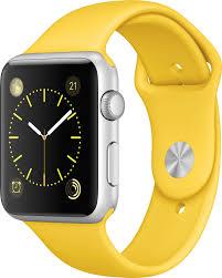 <b>Ремешок спортивный EVA</b> для Apple Watch 38/40 mm Желтый ...