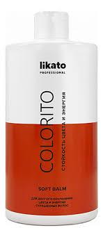 Купить софт-<b>бальзам для окрашенных волос</b> colorito Likato, для ...