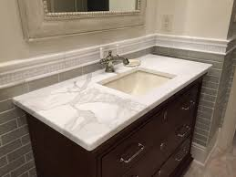 bathroom tile inspire calcutta gold marble vanity by luxury countertops
