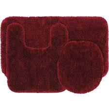 bathroom target bath rugs mats: bursting flower cotton piece bath rug set ebay