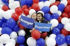Image result for hillary obama stronger together picks