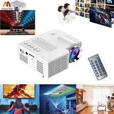 MR Portable UC28 PRO HDMI Mini LED Projector Home Cinema ...