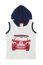 Pantaloons <b>Baby</b> Shirts & Tees, <b>Boys</b> Hooded <b>Sleeveless Tee</b> for ...