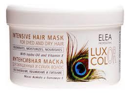 <b>Интенсивная маска для</b> окрашенных и сухих волос Luxor Color ...