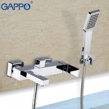 GAPPO <b>Bathtub Faucets brass bath</b> faucet waterfall faucet bathtub ...