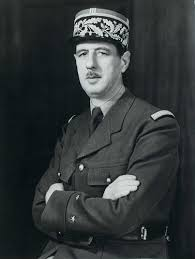 General De Gaulle | Description: Signed photograph of Genera ...