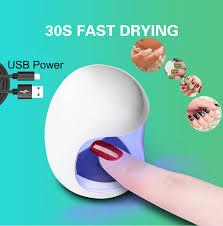 2019 <b>Egg Shape 3W UV</b> LED Lamp For Nail Single Finger Lamp ...