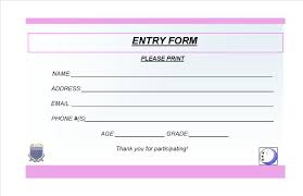 entry ticket template entry ticket template 153