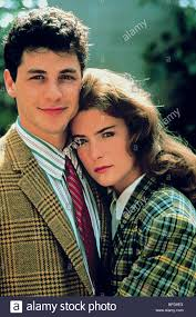 corey parker lara flynn boyle how i got into college 1989 stock corey parker lara flynn boyle how i got into college 1989