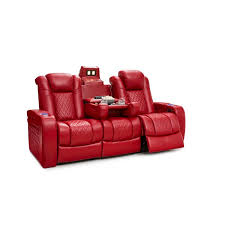 <b>Faux Leather</b> Theater Seating You'll Love in 2020 | Wayfair