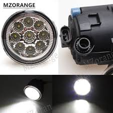 <b>MZORANGE</b> 9LED <b>6000K</b> fog light For NISSAN X-Trail T31 Vampira ...