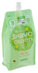 """Жидкое <b>пенящееся мыло для</b> рук """"Shavo Green"""", 900 мл 23075 ..."""