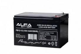 <b>Аккумулятор Alfa Battery 12V</b> 12Ah - AB-12-12