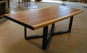 wood slab dining table beautiful: attractive dining room centerpieces for tables  live edge wood slab dining tables
